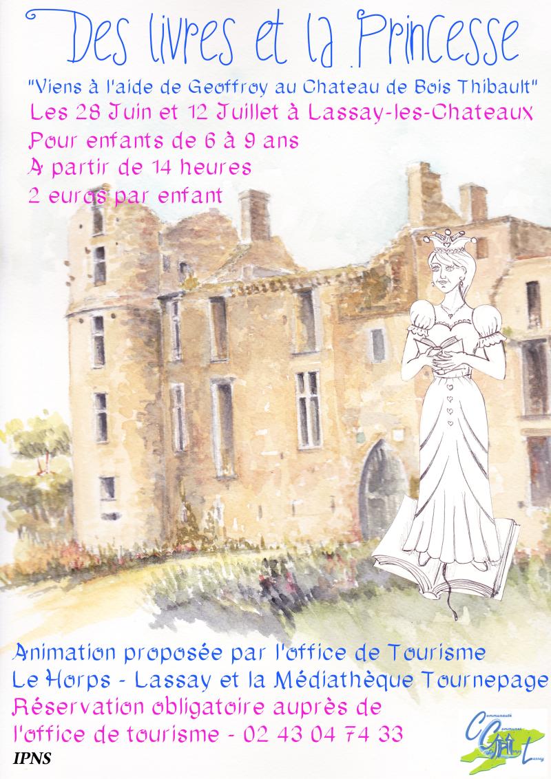 Affiche Princesse A3